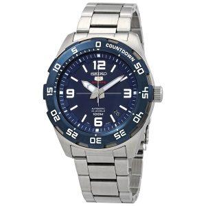 Đồng hồ nam Seiko Series 5 số màu xanh tự động SRPB85
