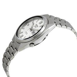 Đồng hồ nam Seiko Series 5 số bạc tự động SNXS73J1