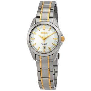 Đồng hồ Seiko nữ Conceptual Quartz Silver Dial SXDF59