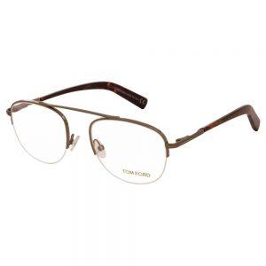 Kính mắt Tom Ford Clear Shiny Dark Ruthenium FT5450 012 51