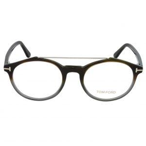 Mắt kính Tom Ford Coloured Havana/Grey Eyeglasses FT5455 055 50