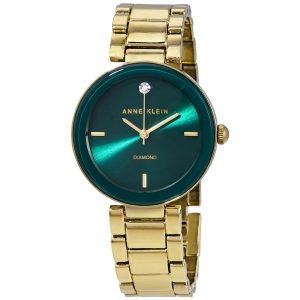 Đồng hồ Anne Klein nữ Green Dial AK/1362GNGB